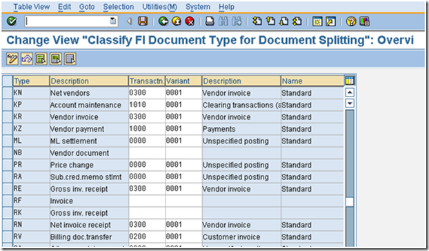 Classify Document Types for document splitting