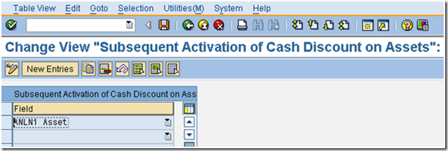 Define Post-Capitalization of Cash Discount to Fixed Assets